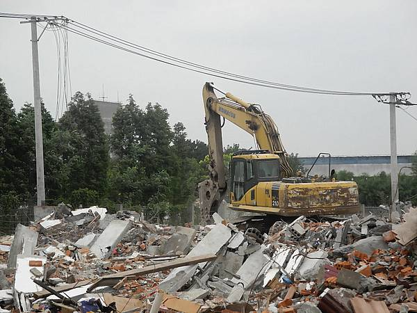 china-demolition-site