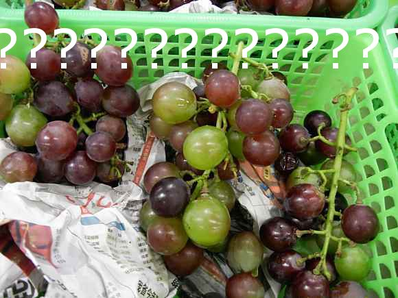 Chinese grapes