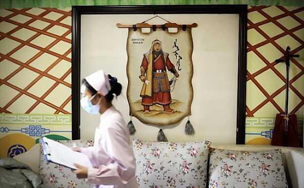 Chinese maternity ward