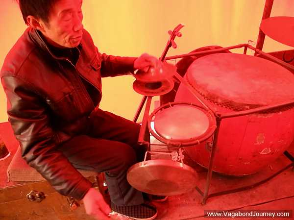Chinese opera percussion