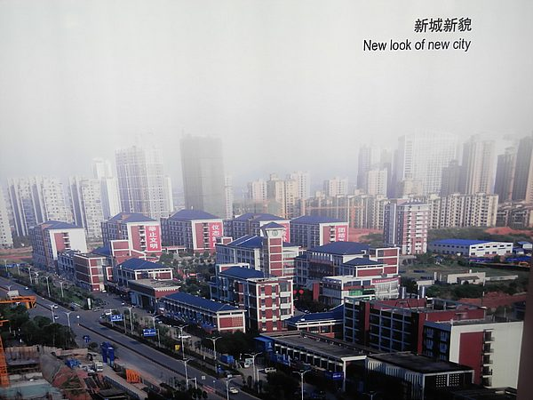 This is no joke, this really is how new Chinese cities look