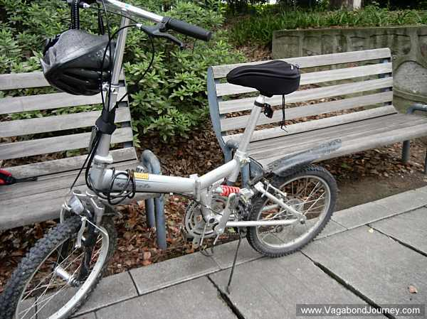 Dahon folding bicycle