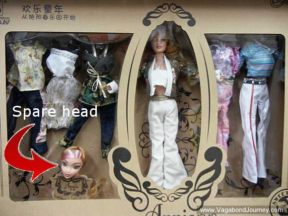 Check Out This Chinese Barbie Doll With a Detachable Head post image