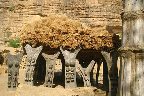 dogon-carvings