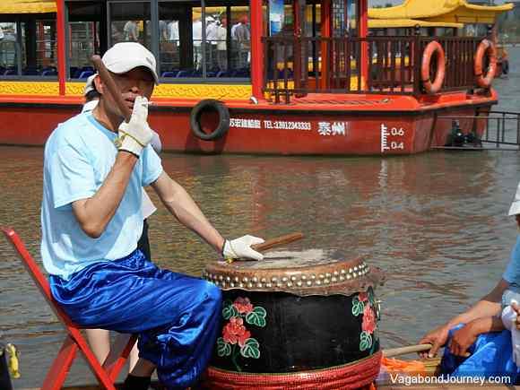 drummer dragon boat