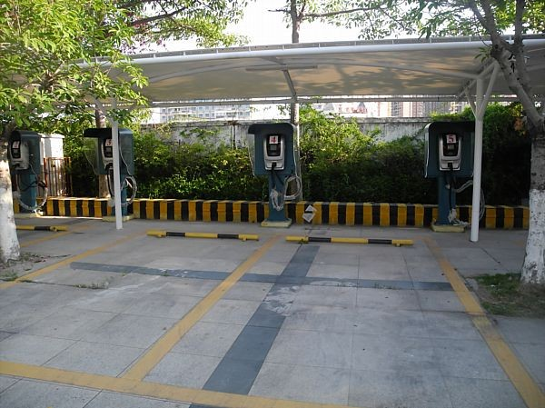 electric car charging station China (4)
