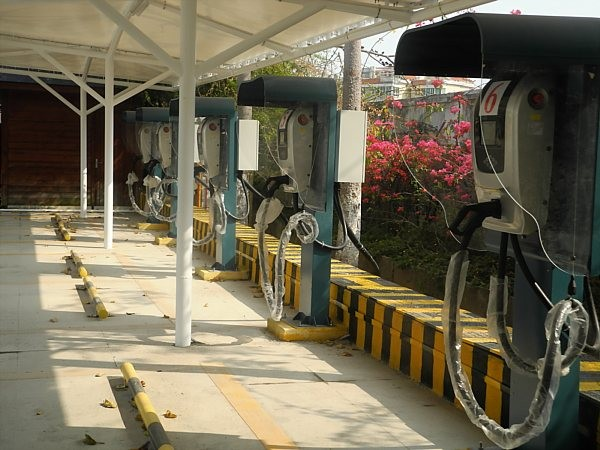 electric car charging station China