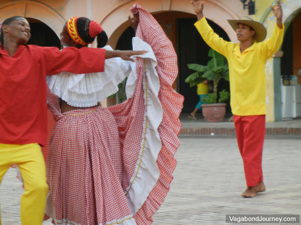 Folk Dancers Colombia