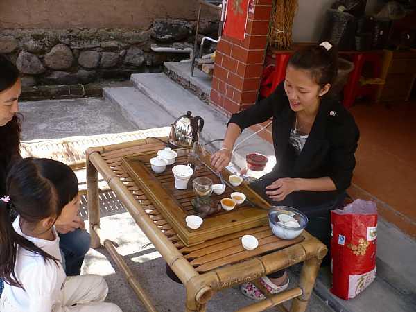 Fujian tea