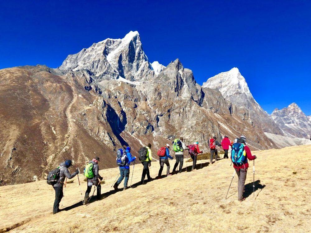 Trekkin in Nepal
