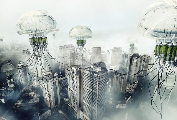 jellyfish smog reducer air pollution China_DCE