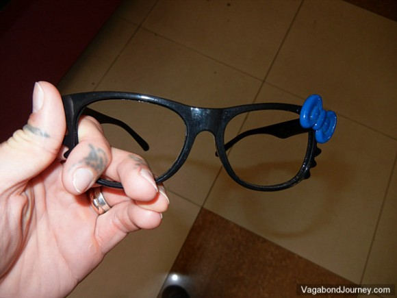 Glasses without lenses