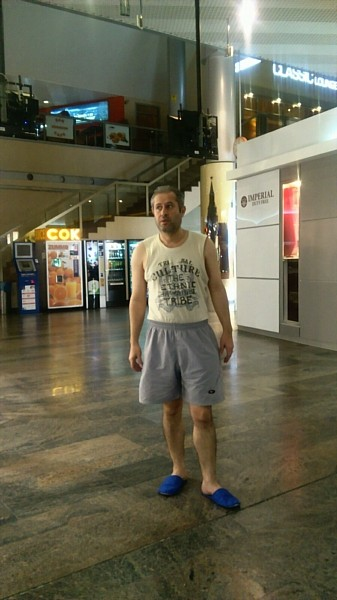 Hasan Yasien has been stuck in the transit zone of Moscow Sheremetyevo for over 133 days.