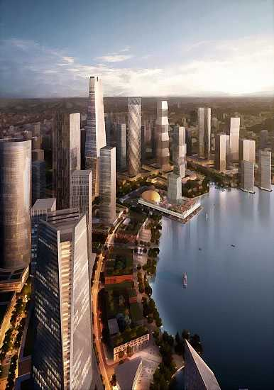 meixi-lake-skyscrapers