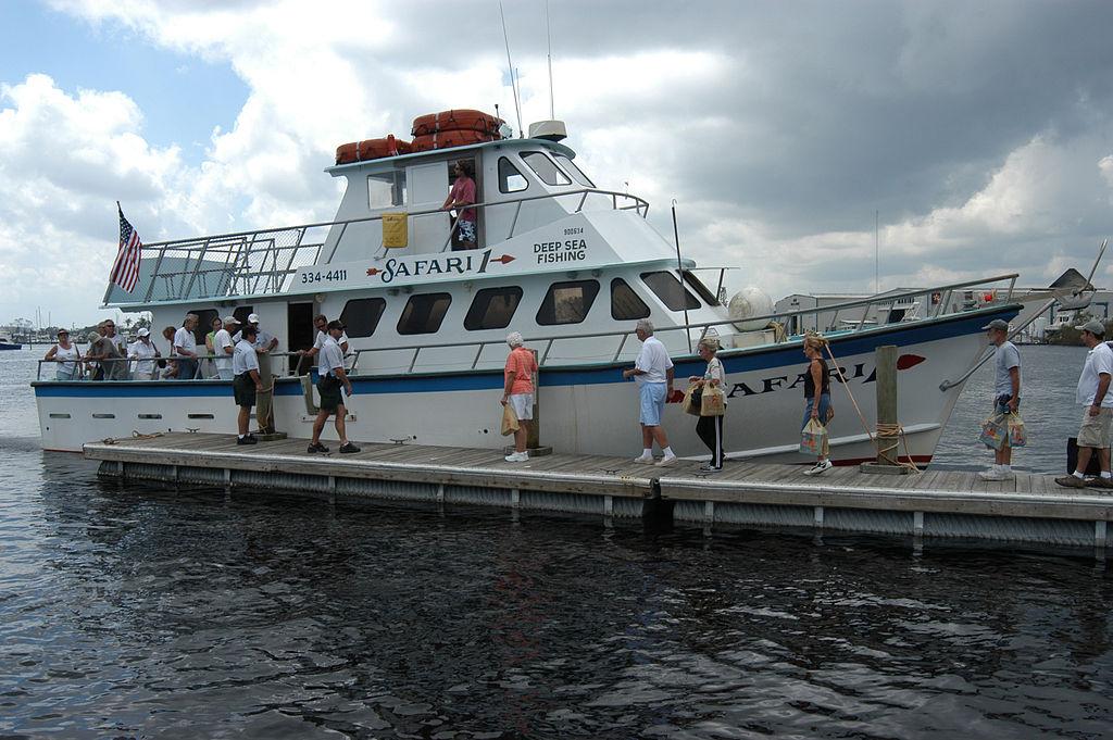 Miami fishing boat