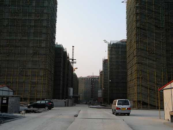 nanhui china new city construction