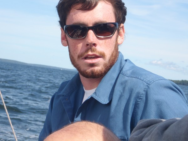 Sailboat captain in Maine