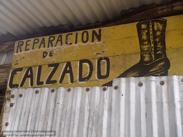 shoe repair shop mexico
