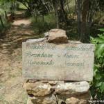 Sign Road Barichara Guane
