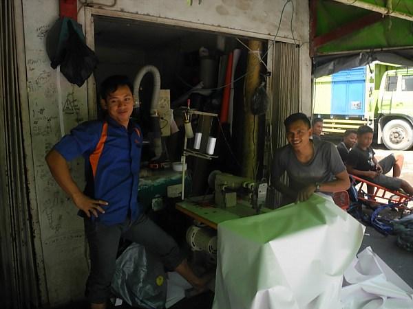 tarp makers Jakarta