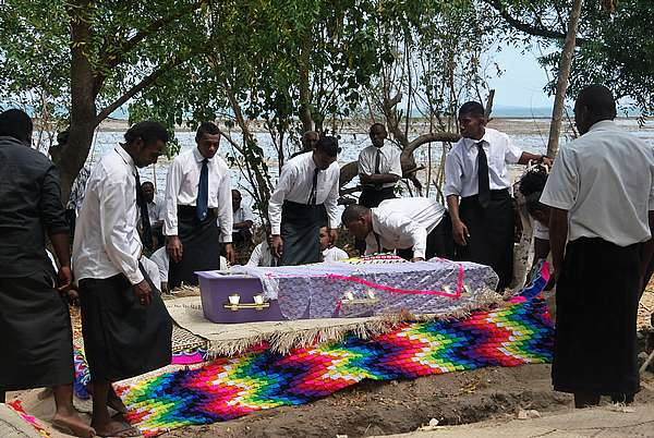 traditional Fiji funeral