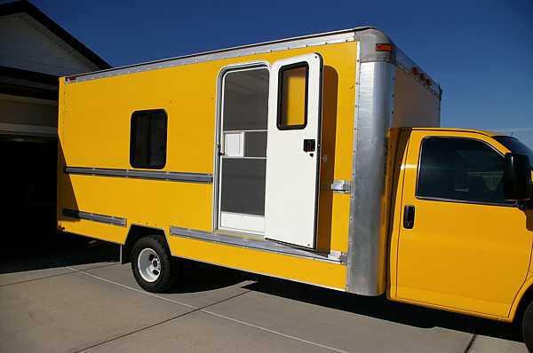 Converting A Moving Truck Into An Rv Style Travel Vehicle