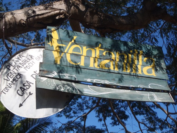 Sign for Ventanilla