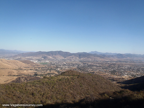 View of the Oaxaca Countryside