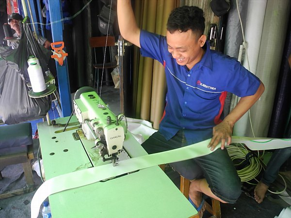 vinal tarp maker Indonesia