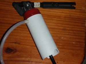 Water filter for travel