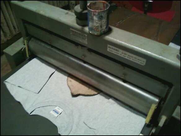 Woodblock printing press