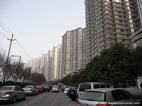 High-rises which have people living in them